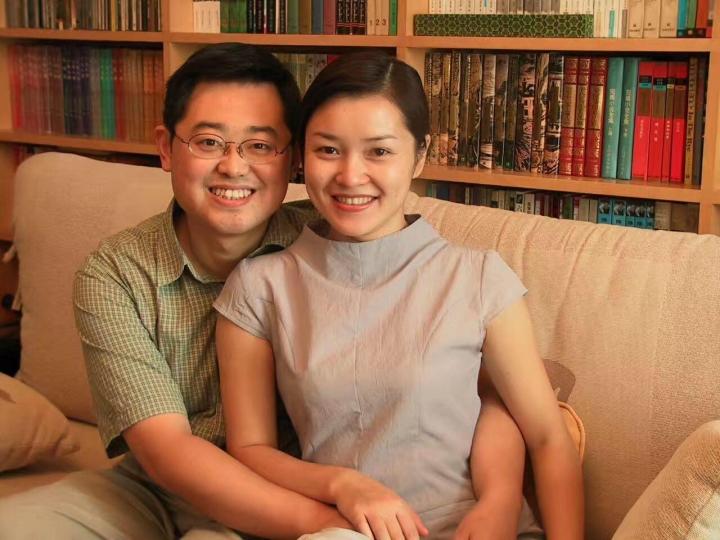 王怡牧師與師母蔣蓉。(圖:網絡圖片)