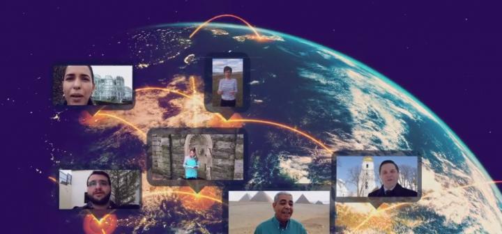「聖經2020」運動,全球85國家信徒加入。(圖:Bible 2020 campaign)