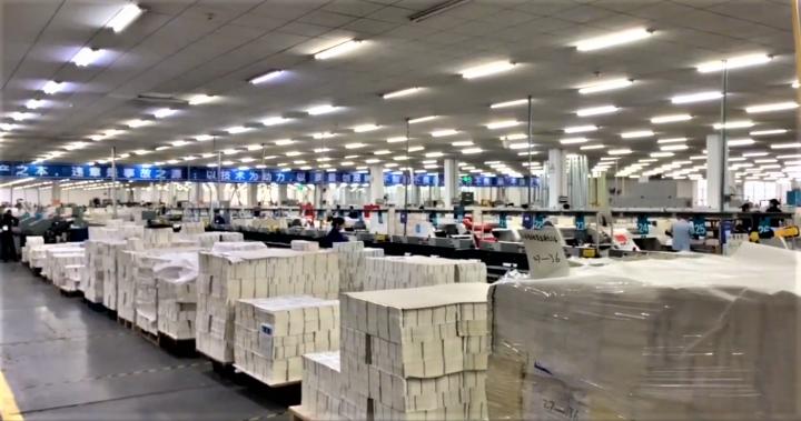 聖經印刷廠。(圖:第200萬本聖經)