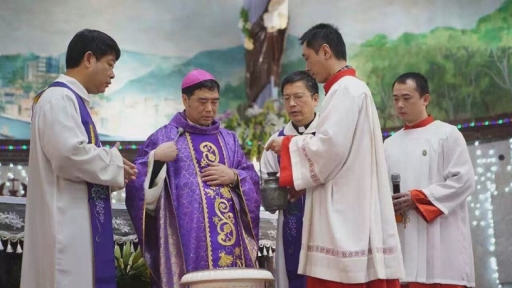 郭希錦主教。(圖:亞洲新聞網)