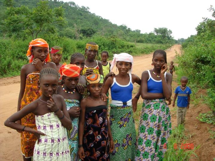 尼日利亞婦女與兒童。(圖:網絡圖片)