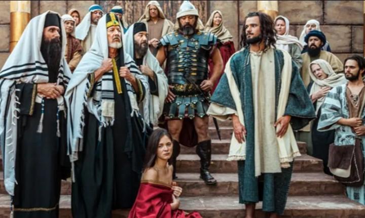 首部手語電影講述《聖經》約翰福音8章行淫婦人的故事。(圖:Deaf Missions官網)