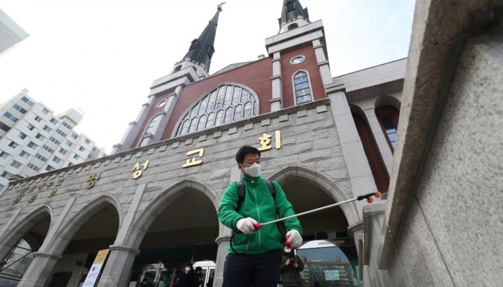 南韓天主教236年首停全國彌撒。(圖:網絡圖片)