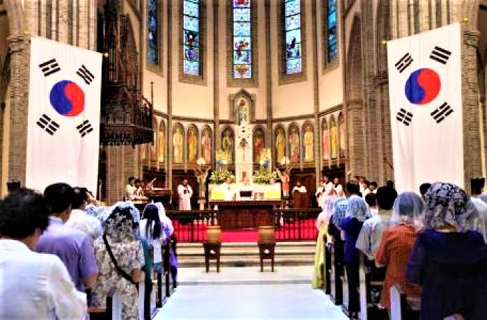南韓天主教徒二十年增長48.6%。(圖:AsiaNews)