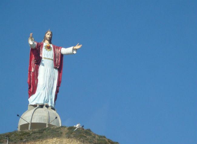 耶穌以神的話勝試探。(圖:網絡圖片)