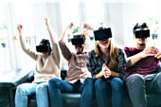 新生代不再執著實體還是虛擬。(圖:FreeImage)