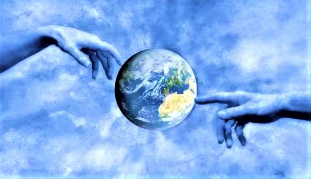 上帝是世界和人類主宰。(圖:網絡圖片)