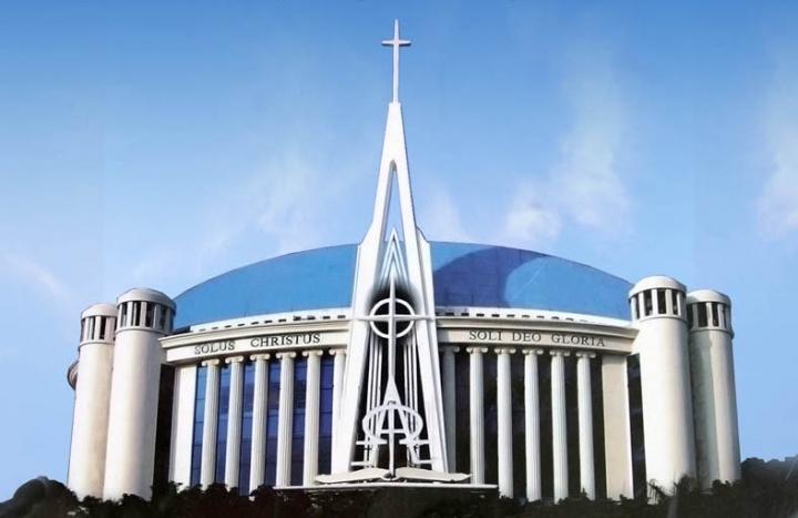 印尼歸正福音教會。(圖:印尼歸正福音教會臉書)