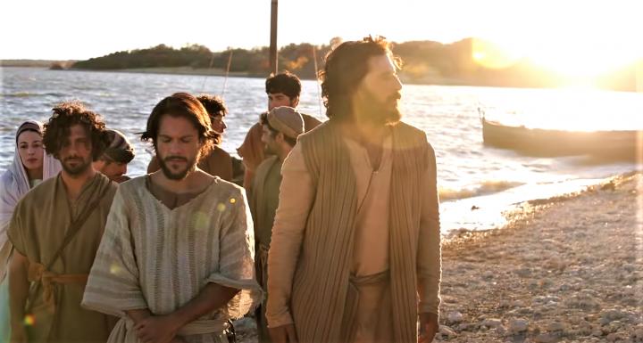 《上帝所揀選的人》劇幕。(圖:官方視頻擷圖)