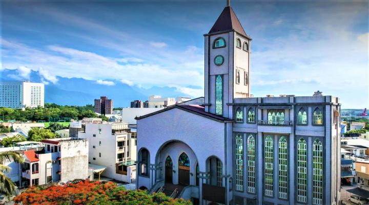 花蓮美崙浸信會將擴建為城市文化中心實踐宣教異象。(圖:google map)