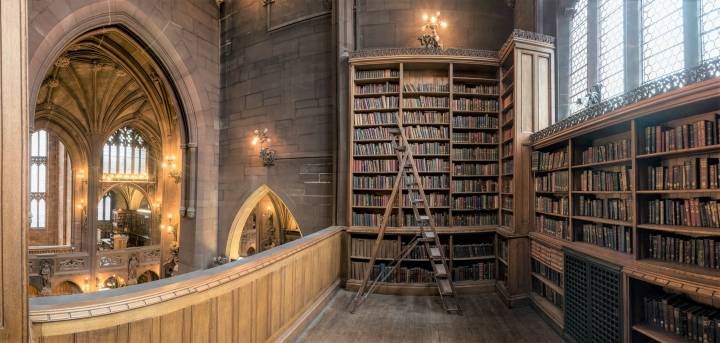 約翰.賴蘭茲圖書館(John Rylands Library)。(圖: John Rylands Library facebook)