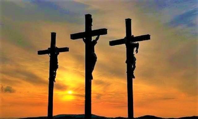新約第一個進天國的人是與耶穌同釘十字架的其中一個強盜。(圖:網絡圖片]