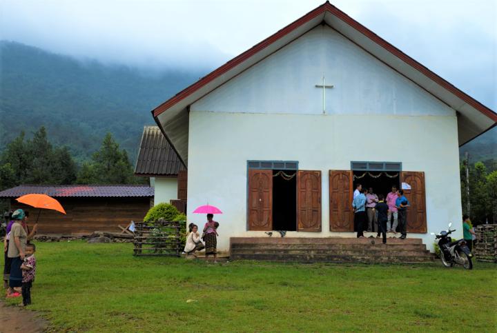 老撾教會。(圖:敞開的門)