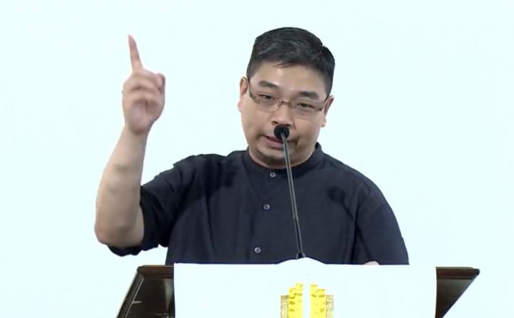 王礽福社長。(圖:香港教牧網絡視頻擷圖)