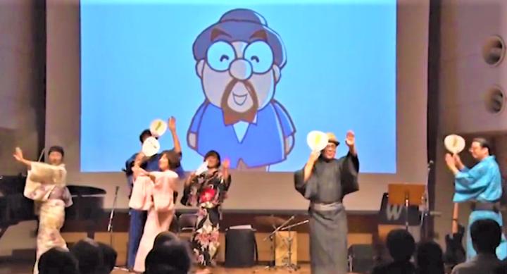 """東北啦啦隊"""" LOVE EAST""""舉辦編舞講座及舞蹈表演。(圖:視頻擷圖)"""