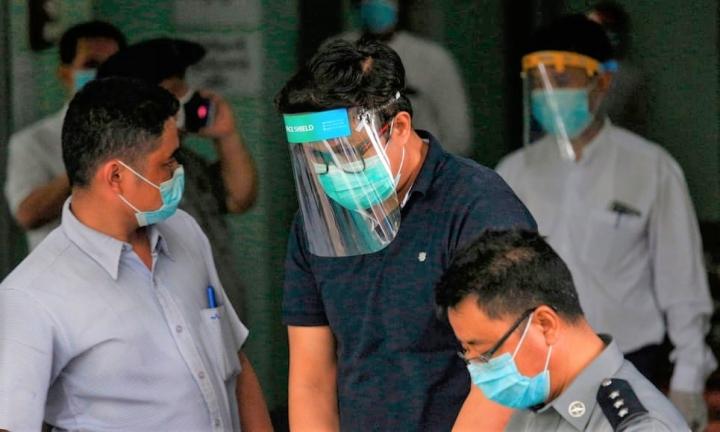 大衛‧拉赫牧師被緬甸人員拘捕。(圖:網絡圖片)