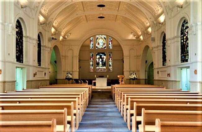 教堂一瞥。(圖:Getty Images)