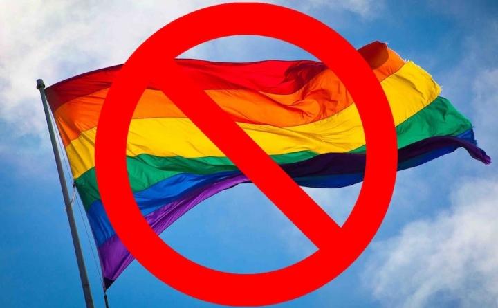 基督教團體質疑同性戀遊行動機。(圖:網絡圖片)