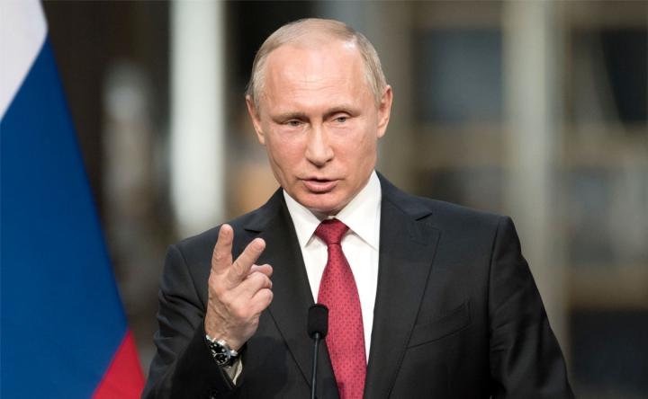 俄羅斯總統普京。(圖:網絡圖片)