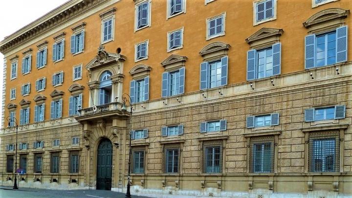 梵蒂岡聖座教義部。(圖:鹽與光網站)