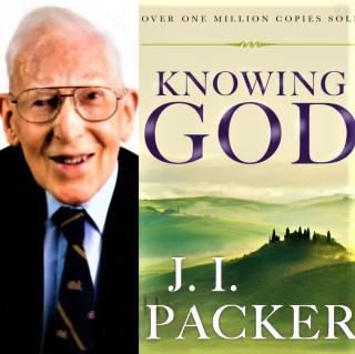 巴刻與著作《認識神》。(圖:網絡圖片)