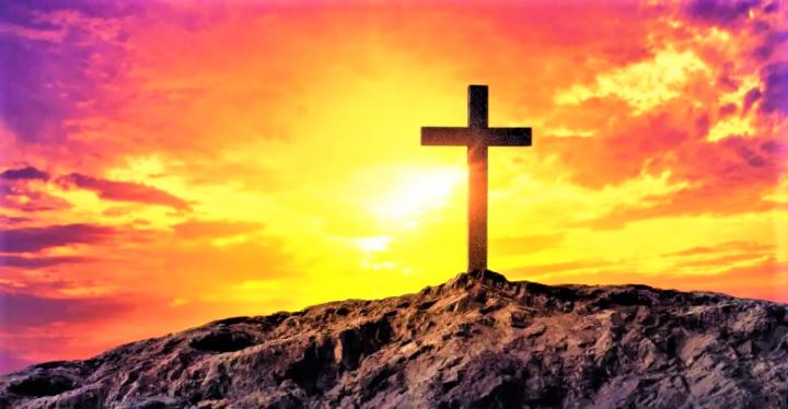 十字架化解仇恨。(圖:網絡圖片)