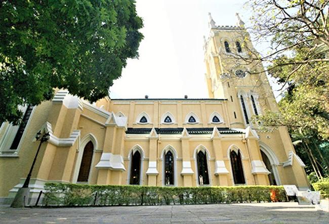 聖約翰座堂 。(圖:古物古蹟辦事處)