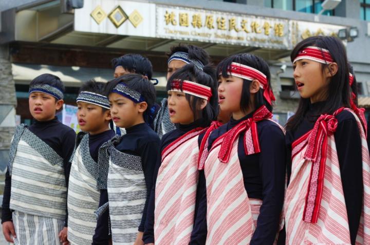 台灣原住民孩子。(圖:網絡圖片)