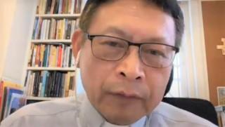 聖公會聖保羅堂法政牧師彭培剛。(圖:youtube 擷圖)