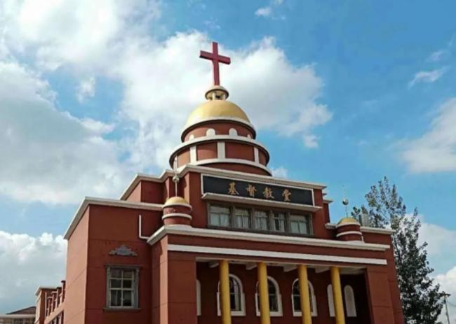 響水縣基督教堂。(圖:基督網)