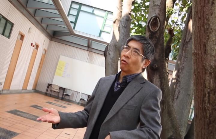楊錫鏘牧師。(圖:中神40周年院慶專訪視頻擷圖)