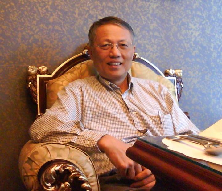 溫英幹牧師。(圖:國立東華大學網頁)