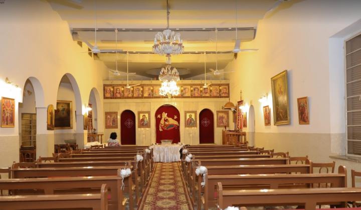 蘇丹卡土穆默基特希臘禮天主教會。(圖:google map)
