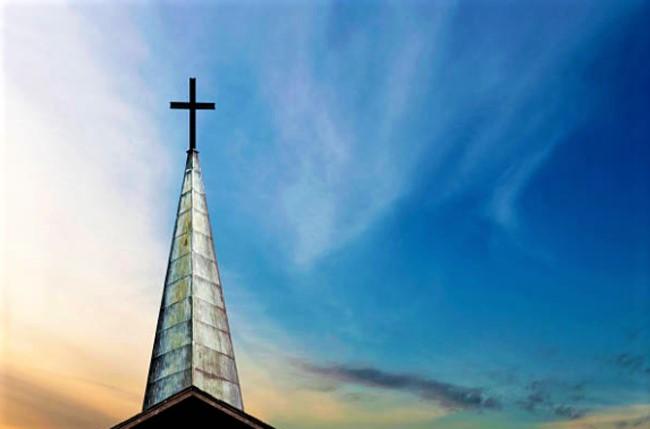 教會十字架。(圖:Getty Images)