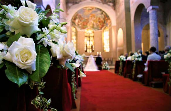 教堂婚禮示意圖。(圖: Getty Image )