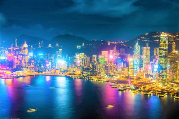 香港夜景。(圖:freepik)
