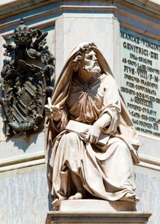 先知以賽亞雕像。(圖:網絡圖片)