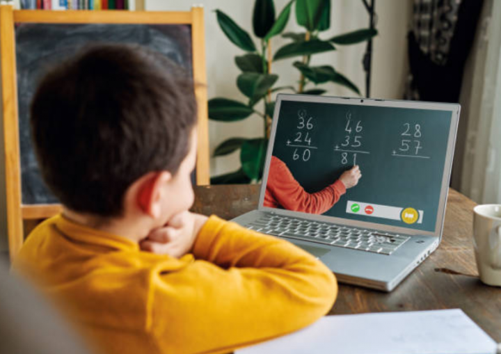 兒童網絡學習。(圖:Getty Images)