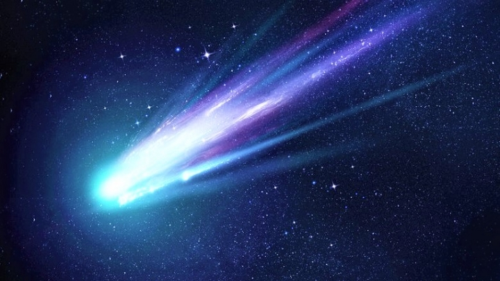哈雷彗星。(圖:網絡圖片)