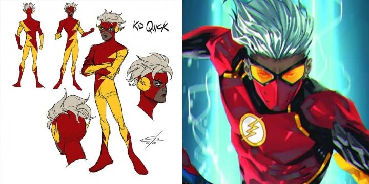 DC漫畫的Kid Quick。(DC漫畫擷圖)
