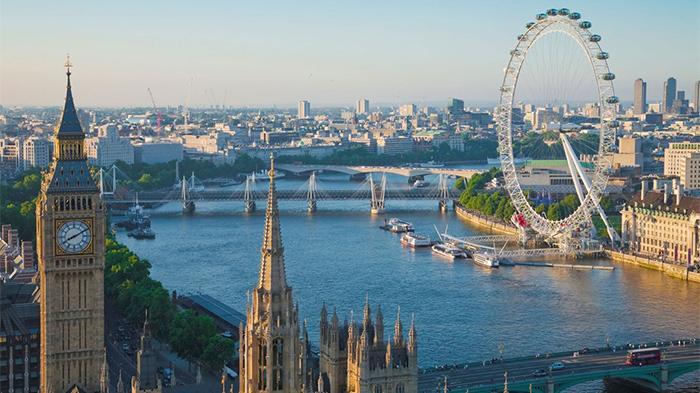 英國倫敦泰晤士河。(圖:網絡圖片)