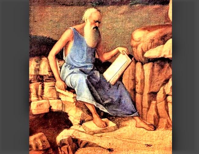 第四世紀沙漠教父伊瓦格思。(圖:網絡圖片)