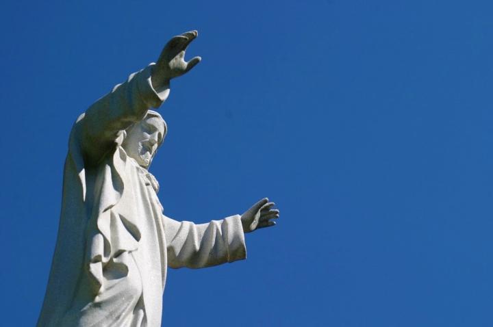耶穌像。(FreeImage)