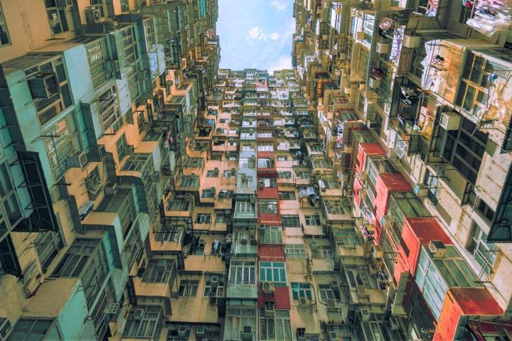 香港民房。(圖:pexel)