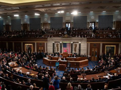 美國眾議院。(圖:美國眾議院官網)