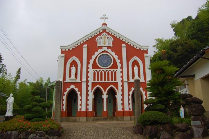 寶亀教會。(圖:長崎縣觀光聯合會)
