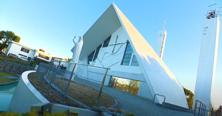 山口市天主教堂。(圖:山口市官網)