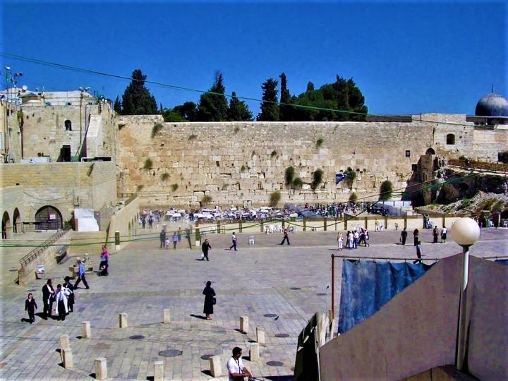 耶路撒冷舊城的哭牆。(圖:網絡圖片)
