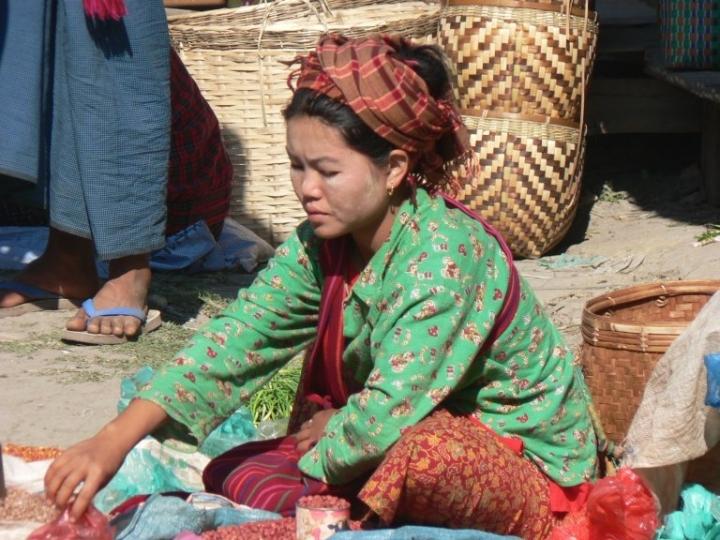 緬甸婦女。(圖:FreeImage)