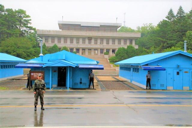 分隔南北韓的三八線。(圖:網絡圖片)